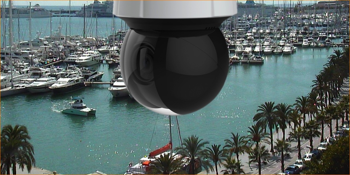 FULL HD Pan Tilt Zoom IP camera - 1080p